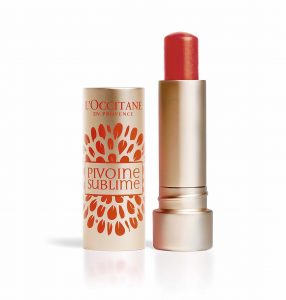 Lip Balm PEONIA Red Orange_L'Occitane1